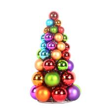 30cm Décoration d'arbre coloré de Noël Ornamnet