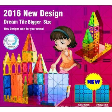 Populäre neue Design pädagogische magnetische Blöcke Spielzeug 2016
