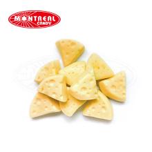 Dreiecksblock süßer Käse gummiartige Kaubonbons