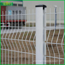 easy install 3d galvanized metal wire mesh fence for sale
