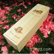 Wooden Wine Stalls Single Sticks Pine Gift Box