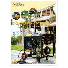 Генератор для бензиновой сварки 180A