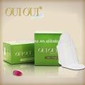 Almofadas sanitárias femininas macias respiráveis de alta qualidade com asas