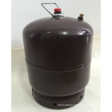 LPG Gas Cylinder&Steel Gas Tank, Color-Coffee Brown