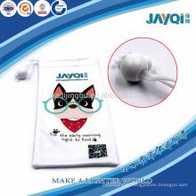 plant full color printed eyewear pouch microfibra bag
