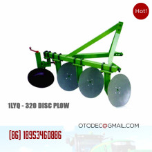 Agricultural 1LYQ-320 mounted disc plough tractor 3 point equipment