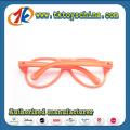 Copos de plástico vestidos de óculos brinquedos para crianças