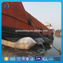 Good Performance Natural Rubber Floating Pontoon Airbags for Ship Lifting