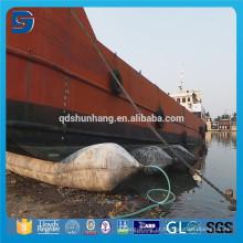 Boinas de ar de flutuação do pontão da borracha natural do bom desempenho para o levantamento do navio