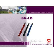 Full-plastique flex balance ignifuge compensant la chaîne, fournisseurs de la chaîne, bloc de la chaîne, chaîne fournitures/SN-LB