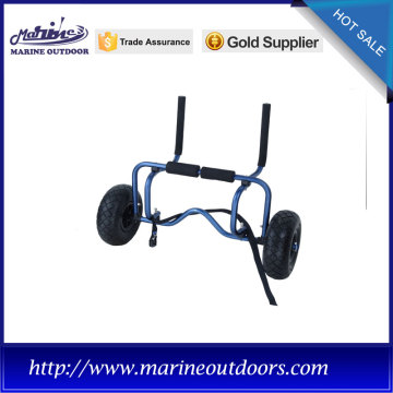 Aluminum canoe and kayak carrier, Boat dolly cart, Aluminium trolley trailer