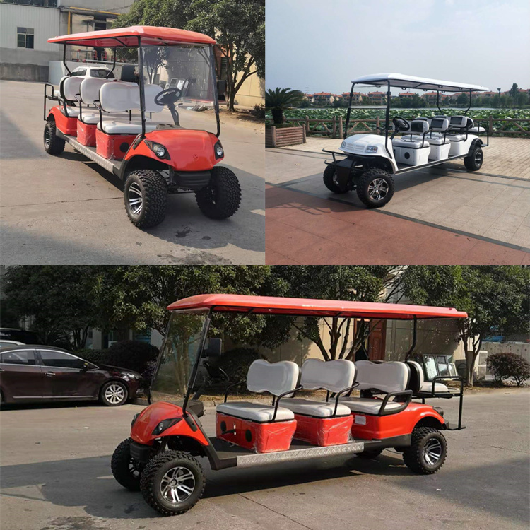 6 2 Seaters Off Road Golf Carts