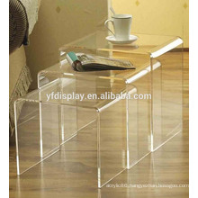 clear acrylic coffee table sets