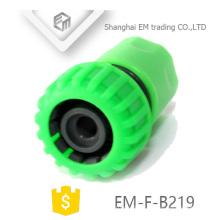 EM-F-B219 Green plastic hose connector for garden