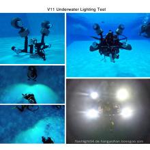 IP68 Top Selling Outdoor Suche Die meisten leistungsstarke LED Tauchen Taschenlampe