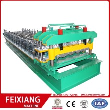 Aluminium Glazed Steel Roof Tile Machine