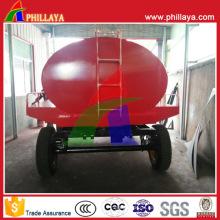 Tri-Axle Kohlenstoffstahl-Wassertanker-LKW