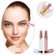 Electric eyebrow trimmer and shaper