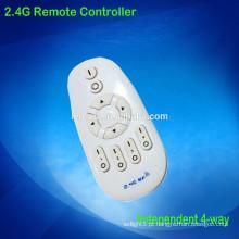 Controle distância 20-50m 2.4g controle remoto para iluminação inteligente levou