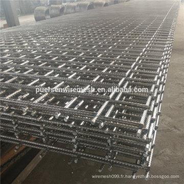 Matériau de construction Acier renforcé Mesh Sl62 Sl72 Sl82