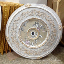 Round PS Artistic Ceiling Medallion Decoration Material Dl-1169-5