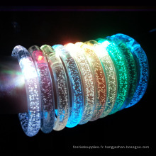 led allume des bracelets
