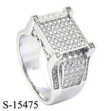 Dernière conception bijoux de mode 925 bague en argent