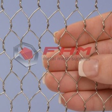 316 Stainless Steel Chicken Wire 1/2 Inch Lubang