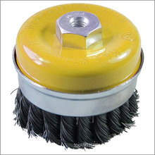 Cleaning Tools Twist Knot Cup Brush M14 100mm Accessories