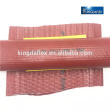 PVC layflat hose with connector Kingdaflex manufacture