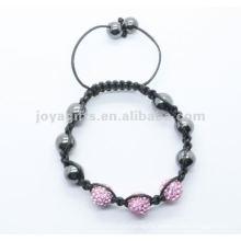 2012 Joya crystal ball beads shamballa bracelet jewelry