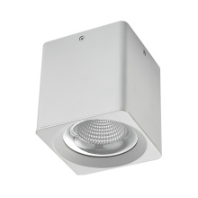 Downlight LED COB regulable 10-40W montado en superficie