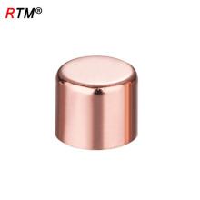 J17 4 10 2 accesorios de cobre de la entrerrosca del tubo de cobre que guardan el accesorio cruzado del tubo de cobre de la plomería