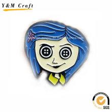Metall Typ Soft Emaille Magnetische Kühlschrank Aufkleber Ym1067