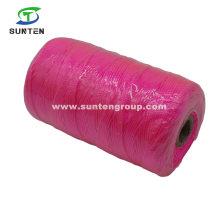 Pink High Tenacity PE/PP/Polyester/Nylon Plastic Twisted/Braided/Baler/Thread/Packing Line/Fishing Net String (210D/380D) by Spool/Reel/Bobbin/Hank
