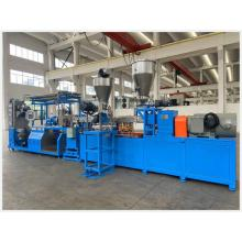 Compounding Twin Screw Extruder with Water Ring Pelletizer