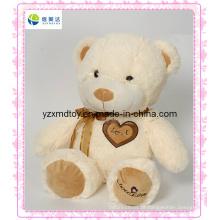 A pelúcia cremosa Teddy Bear Wholesalers para o Dia dos Namorados