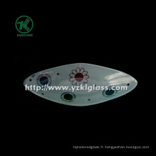 Plaque en verre à un seul mur par SGS (KLP130402-39)