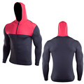 Running Sudadera Zip Up Fitness Gym Camisas