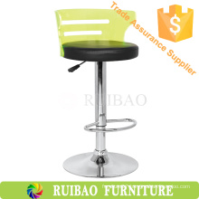 2016 Hot Sales Acrylic Bar Counter Cheap Colorful Transparent acrylic Swivel Chair