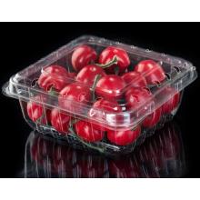 Rectangular transparent blister fruit and vegetable box