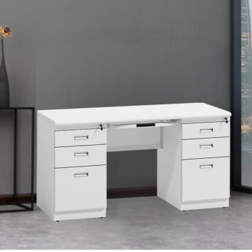 Metall moderner Bürocomputertisch für Büromöbel