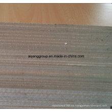 1220X2440mm Plain o Melamina Tableros de MDF de Media Densidad