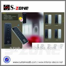AC 100-240V cortinas motorizadas de la cortina teledirigidos sin hilos que los proyectos de las fuentes caseras