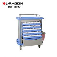 DW-MT001 Chariot de médecine de spécification d'urgence d'hôpital