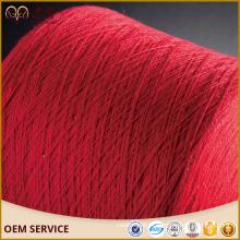 Fil 100% mongol de cachemire fil d'Aran coloré tricotant la main