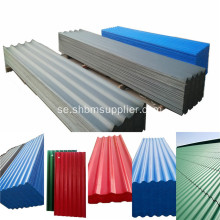 Högkvalitativa PET Laminerade MgO Corrugated Roofing Sheets