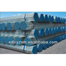 Tuyau galvanisé par 32mm / tuyau d'acier galvanisé de 1 pouce
