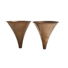 cono giratorio de chapa de cobre