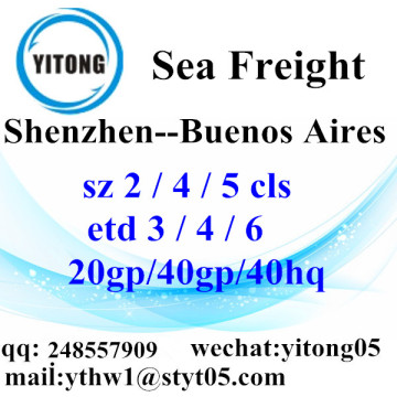 Shenzhen Sea Freight Logistics Company untuk Buenos Aires